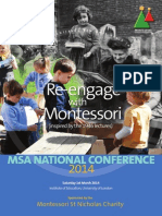 MSA Programme Brochure 2014