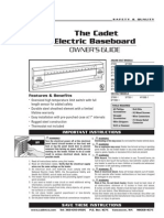 Cadet Electric Baseboards