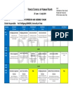 2014 Programme Cluster C Venice School of Human Rights