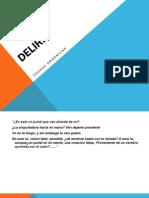 Delirio Diapositivas