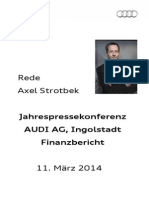 Axel Strotbek Jahrespressekonferenz 2014