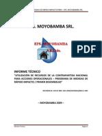 01. Informe técnico desembolso DNS
