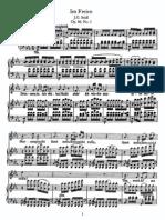 Schubert - Im Freien (Seidl), Op.80, No.3
