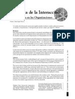 Semiotica de La Interaccion Comunicativa en Las Organizaciones
