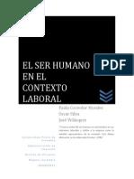 El Ser Humano en El Contexto Laboral