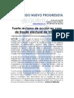 Desmenuzado el esquema de fraude electoral de Villalba