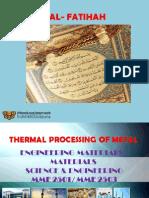 Thermal Processing of Metal