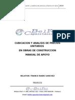 51134657 Manual Cubicacion