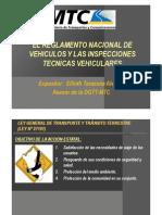 Reglamento Nacional Vehiculos