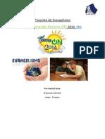 Proyecto Evangelismo CampaON 2014 IBG