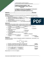 Model subiect olimpiada chimie 2014.