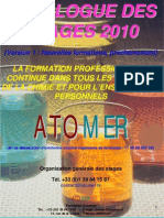 Catalogue Formation Continue Chimie Polymeres 2010