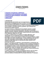 Pedagogía y Andragogía_Semejanzas y Diferencias