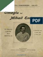 A.D.xenoPOL-''Omagiu Lui Mihai Eminescu''-1909