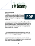 Leadership Theories Project