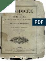 A.De Margerie - Théodicée - vol 2