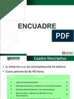 EL DERECHO A LA NO DISCRIMINACIÓN EN MÉXICO DIAPOSITIVA ESTRUCTURA.
