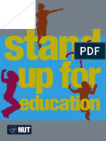 Stand Up for Education | Parent's Leaflets