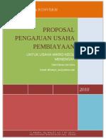 37087718 Proposal Pengajuan Kredit Usaha