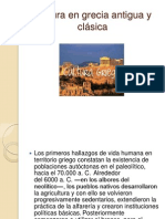 Cultura en Grecia Antigua y Clasica Diapositivas