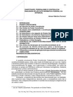 Poder Constituinte, Federalismo e Controle Da Costitucionalidade Amauri_ferreira