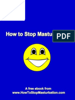 How to Stop Masturbation