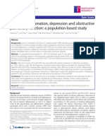 Systemic Inflammation, Depression and Obstructive