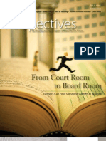 Perspectives Magazine - From Court Room to Board Room - Article