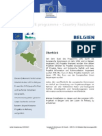 Belgium Update de Sept13