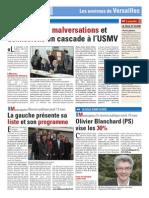 USMV - Soupçons de malversations et démissions en cascade