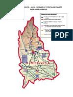 Harta Poluarii Apelor Dambovita