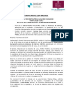 III Premio Iberoamericano de Igualdad, Cortes De Cádiz