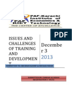 Project Training and Development
