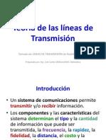 Introducción a las líneas de Transmisión