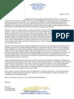 stephanie barnes letter of recommendation brad sever
