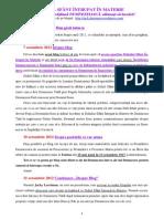 DUHUL SFÂNT ÎNTRUPAT ÎN MATERIE-06.03.2014