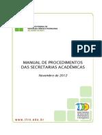 Manual de Procedimentos Da Secretaria Academica