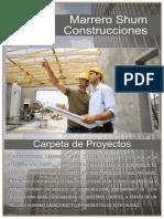 Carpeta de Proyectos Constructora