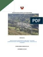 """Proyecto """"Instalación de biohuertos familiares con fines comerciales en el distrito de Huancarama, provincia de Andahuaylas, Apurímac"""""""