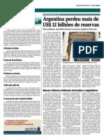 Argentina Perdeu Mais de 12 BI de Reservas