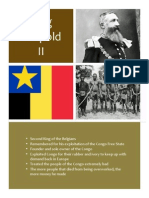 King Leopold i i Hand Out