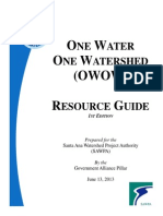 Appendix H One Water One Watershed OWOW Resource Guide Edition 1