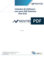 Requerimientos de Software-hardware Para Sap Business One 8.8 v3.0 Novitec