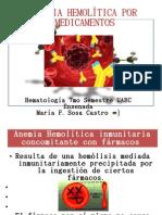 Anemia hemolítica medicamentosa