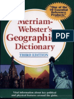 Merriam-Webster's Geographical Dictionary (1085-1397)