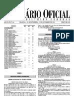 PCDF - Delegado - Portaria - Conteúdo - DODF