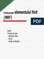 Www.graduo.ro 36872 36872 Metoda Elementului Finit