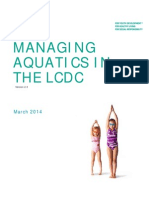 Managing Aquatics in the LCDC v 2 3