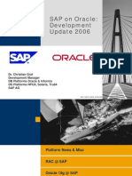 SAP on Oracle