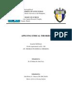 St. Thomas Ethical Case Study